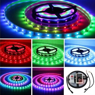 5M 5050 Magic Dream Color 6803 IC Chip RGB LED Strip 133 Effects RF Controller
