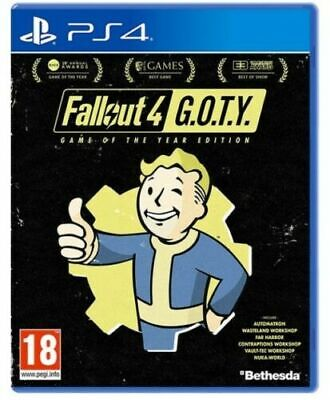 Fallout 4 Game Of The Year Edition Ps4 Videogioco Play Station 4 Goty Italiano