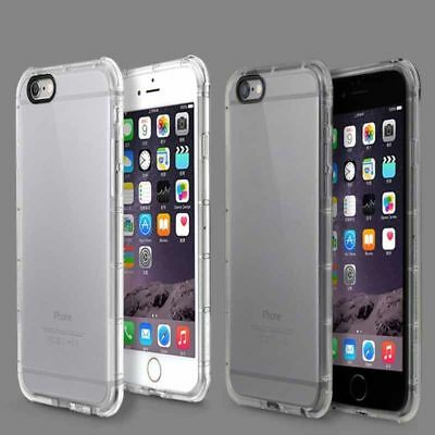 Rugged Transparent Hybrid Mobile Phone Cases Covers iPhone 6 6S 7 8 Plus X