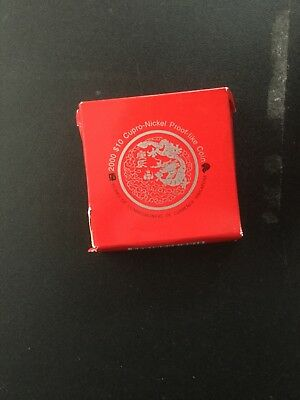 2000 $10 singapore Year of the Dragon Millenium coin