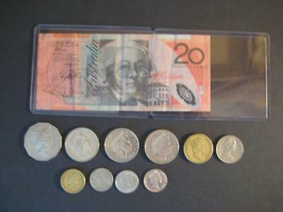 Australia  Paper Money And Coins      Value Unknown