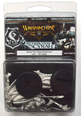 Warmachine Retribution of Scyrah House Vyre Electromancers Unit PIP 35066
