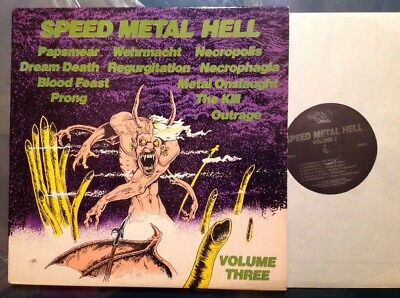 SPEED METAL HELL VA VOL.3 Org Press NRR 1987