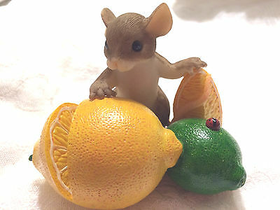 """Charming Tails """" YOU'RE MY MAIN SQUEEZE"""" SIGNED BY DEAN GRIFF LEMON LIME"""