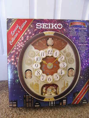 Seiko Wall Clock Melodies In Motion Special Collector's Edition Nib