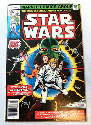 1977 Marvel STAR WARS #1 First Printing 30 cent cover