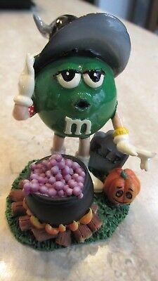 M&M's(R) Halloween Figurine Green Girl Witch - Kurt Adler