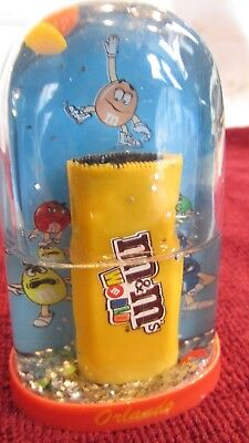 M&M's(R) World Orlando - Small Water Globe dated 2005