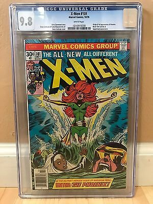 The X-Men #101 CGC 9.8 WHITE pages Origin and 1st appearance of Phoenix KEY