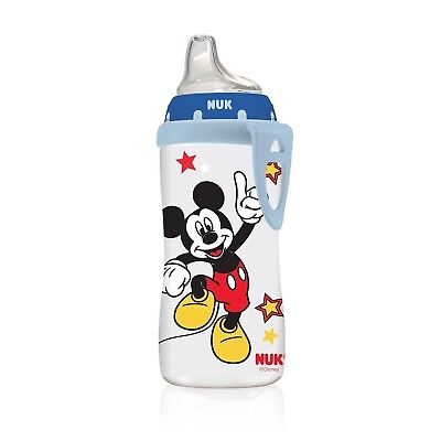 NUK Disney Mickey or Minnie Mouse Active Cup, 10-Ounce (Mickey)