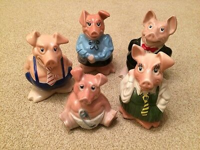 Natwest Pigs full set excellent condition NO RESERVE mint condition