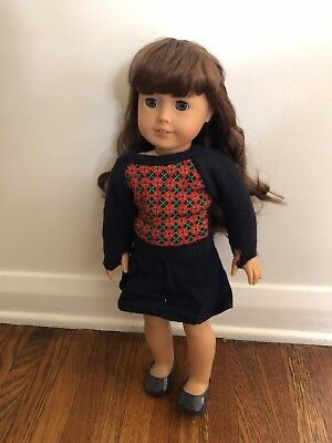 Molly Retired American Girl Doll with Glasses 18 inch
