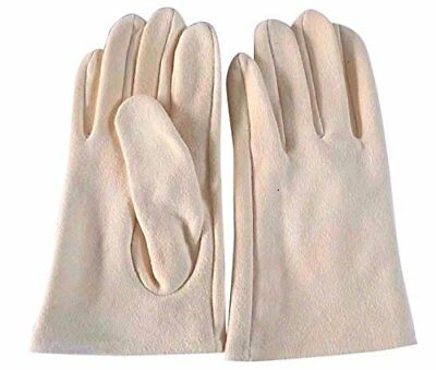 Genuine Real Chamois Leather Car Gloves Chammy Drying Cleaning Cloth Finishing