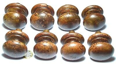 Shabby Chic Antique Set 8X Wooden Chest/drawer/door Handle Knobs 50 Mm