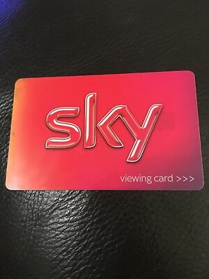 Sky Viewing Card Red