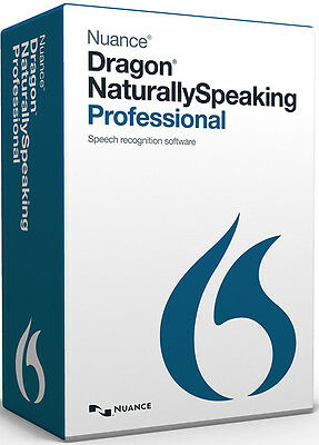 Nuance Dragon NaturallySpeaking Professional 13 - New Retail Box A209A-G00-13.0