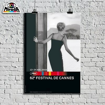 Poster Locandina 62° Festival International De Cannes 13_24 Mai 2009 Quality