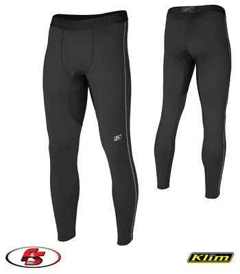 2018 Klim Aggressor Pant 2.0 Black Snowmobile Motorcycle Base Layer MD XL 2X 3X