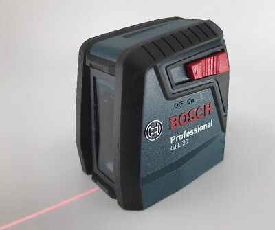 Bosch GLL 30 S 30 ft. Self‑Leveling Cross‑Line Laser FREE SHIPPING