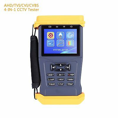 CT 55 4 in 1 CCTV Tester for AHD/TVI/CVI/CVBS Cameras,3.0MP 1A 12V DC Power Out,