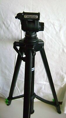 Tristar Tripod For Camera Or Vide0 Slightly Used ..no Damage W Carrying Pouch