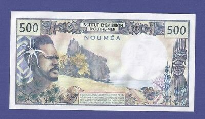 Uncirculated 500 Francs 1985 Banknote From New Caledonia (Noumea). Perfect