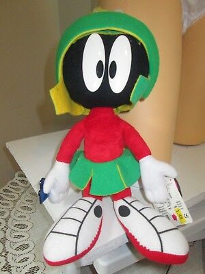 """Marvin Martian bendable plush toy 14"""" Looney Tunes"""