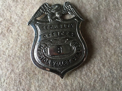 Security Badge #8 Mission Valley Center