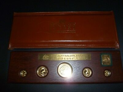 1990 The Australian Nugget - Proof Issue - Gold Coins