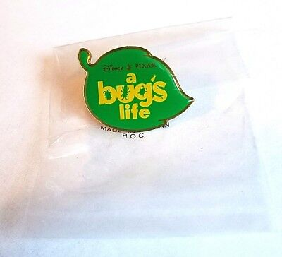 Rare Vintage Disney A Bugs Life Movie Promo Metal Pin - Pixar Denis Leary Flik