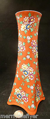 Antique Porzellanfabrik Wehinger Bohemia Austria VASE Asian JAPAN KIMONO 1905-15