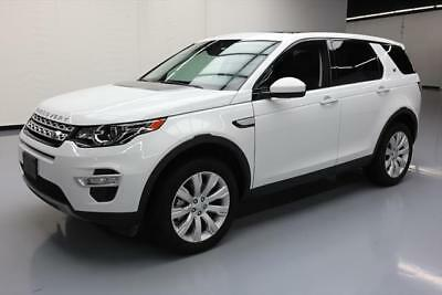 2016 Land Rover Discovery Sport  2016 LAND ROVER DISCOVERY SPORT HSE LUX AWD NAV 35K MI #553261 Texas Direct Auto