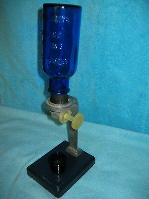 "1940 Drug Store ""BROMO-SELTZER Counter Display Dispenser  Col-bolt Blue Sign"