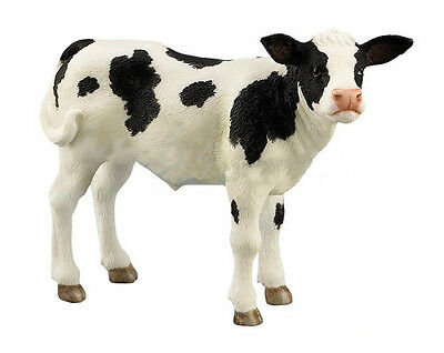 5 Inch Holstein Calf Statue Figurine Figure Cow Farm Animal