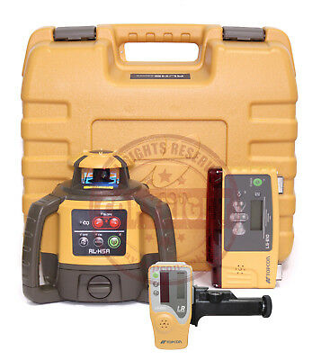 Topcon Rl-H5A + Ls-B10 Self-Leveling Rotary Grade Laser Level, Slope, Transit