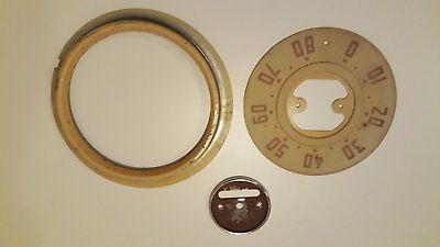 1947 to 1953 GMC / Chevy speedometer -Face-Ring-Center-
