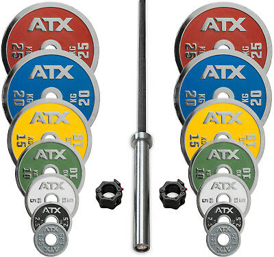ATX Powerlifting Weight Plate Package // Competition Disc Chrome IPF Olympic