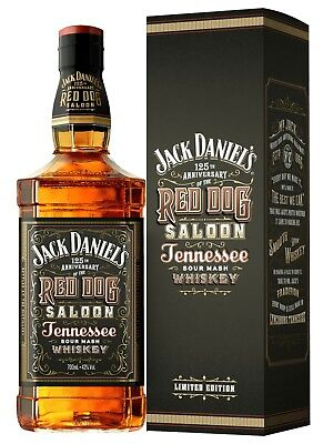Jack Daniels Red Dog Saloon 125th Anniversary 700ML LIMITED EDITION BOXED