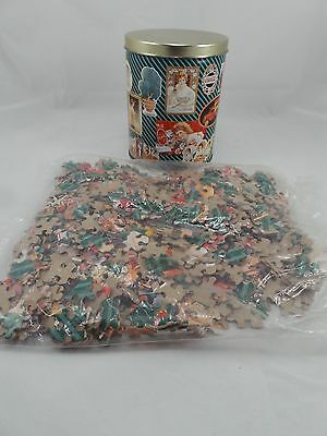 "Coke 700 piece Puzzle 1993 Collectors Tin 12"" x 34"" sealed"