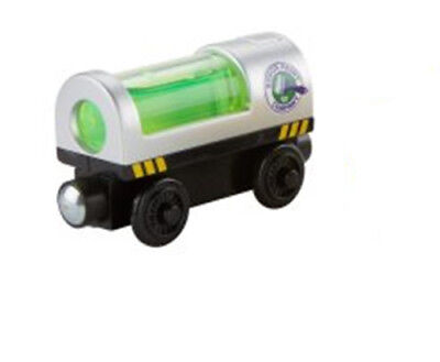 Light Up PAINT TANKER CAR Thomas Tank Engine Friends WOODEN Railway Train NEW