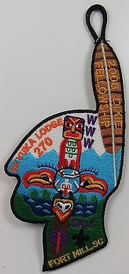 2008 Dixie Fellowship Patch Skyuka 270 Host [P292]