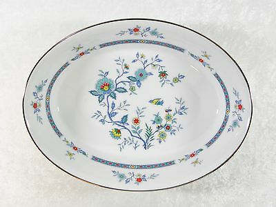 Noritake Fine China Shangri-La 2363 9 In Oval Serving Or Vegetable Bowl