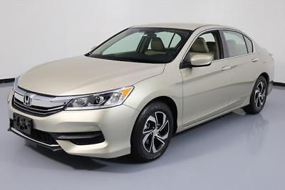 2017 Honda Accord LX Sedan 4-Door 2017 HONDA ACCORD LX SEDAN REAR CAM BLUETOOTH 547 MILES #200869 Texas Direct