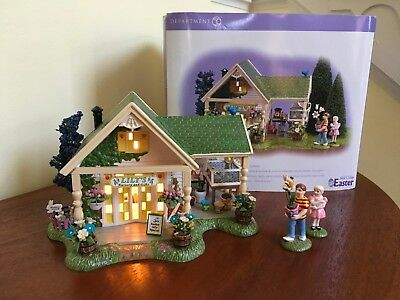 Department 56 Snow Village Easter Lilly's Nursery And Gifts