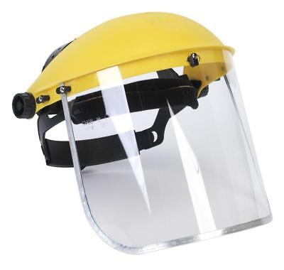 Clear Flip Up Face Safety Mask Shield Screen Full Wide Visor Eye Guard Protector