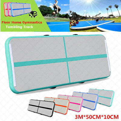 Tumbling Air Track Matte Inflatable Taekwondo Floor Airtrack Home Gymnastics Gym