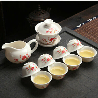 Kung Fu Tea Set Drinkware Purple Clay ceramic Binglie include Tea pot Tea Cup