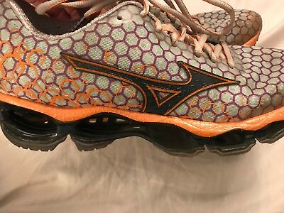 Mizuno Wave Prophecy 3 Womens Running Sports Shoes Size 38.5 Or 8 Us