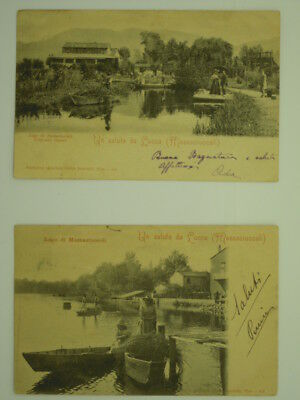 Lucca Provincia-Lago Di Massaciuccoli-Lotto 2 Cartoline-O3N-S64258
