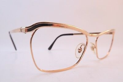 Vintage 50s eyeglasses frames gold filled DRIVER 20/1000 made in France